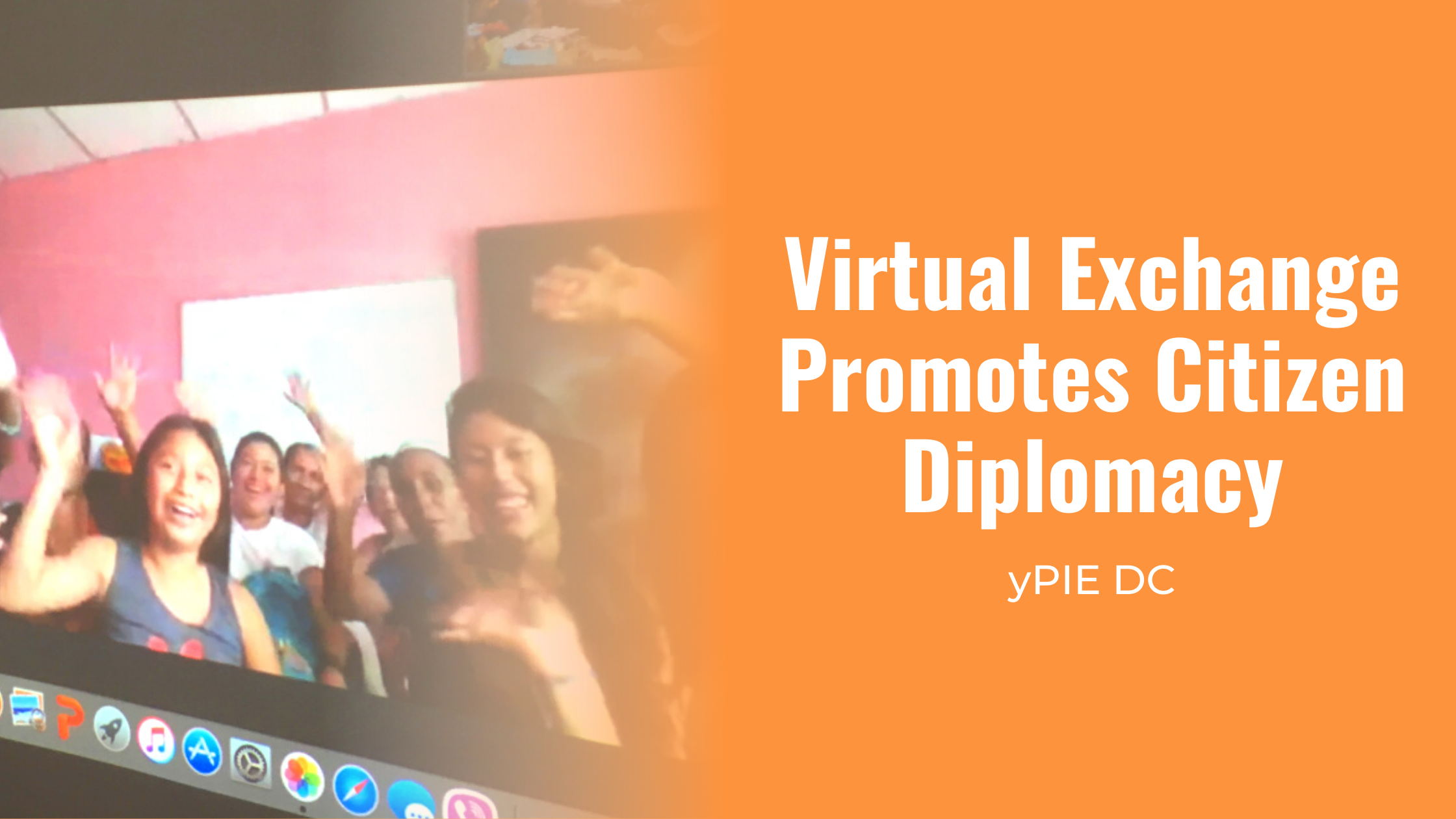 virtual exchange promotes citizen diplomacy